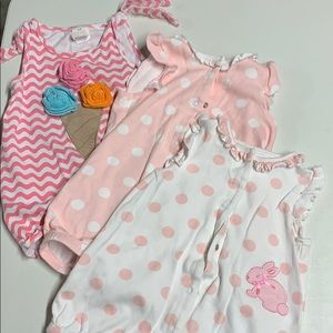 Rompers 12 months all 3 bundle